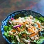 Японский салат с тунцом