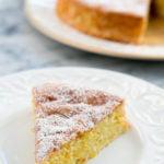 Лимонно-миндальный пирог