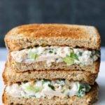 Лучший сэндвич с салатом из тунца