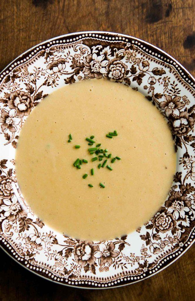 Картофельный суп с сыром и Гиннессом