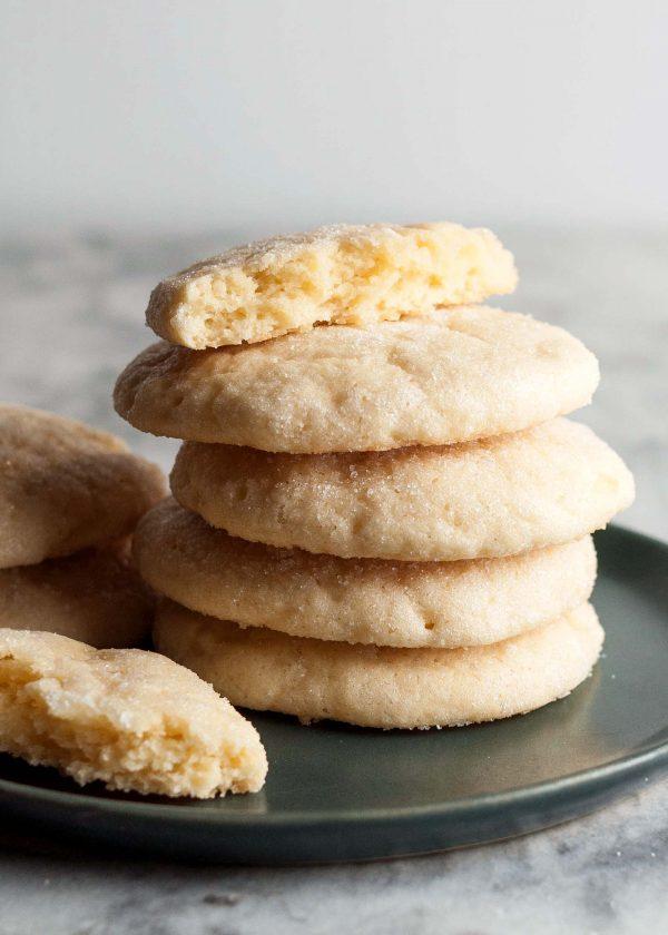Мягкое лимонное печенье