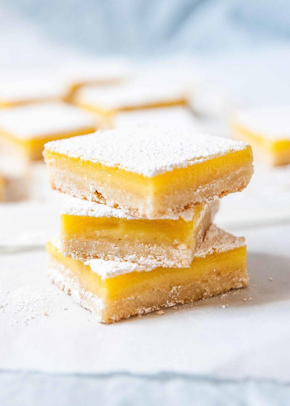 Лимонные батончики