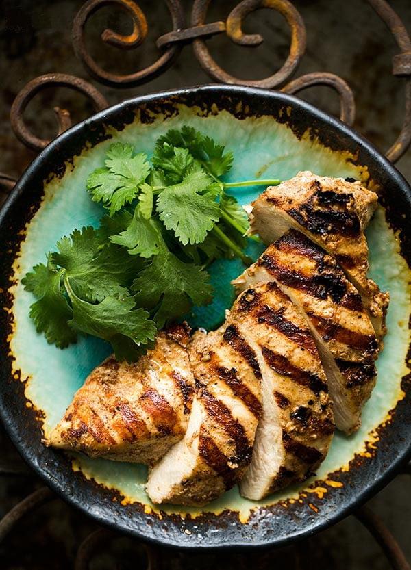Курица гриль по-мароккански