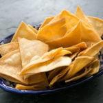 Как сделать домашние чипсы из тортильи