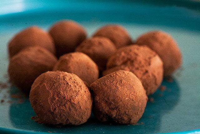 Как сделать домашние шоколадные трюфели