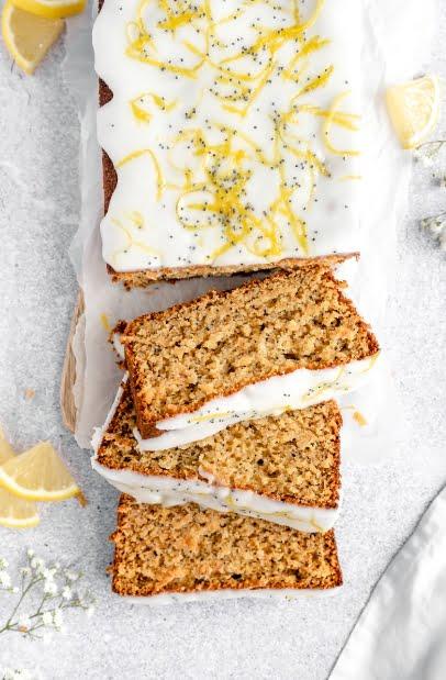 Безглютеновый лимонный кекс с маком