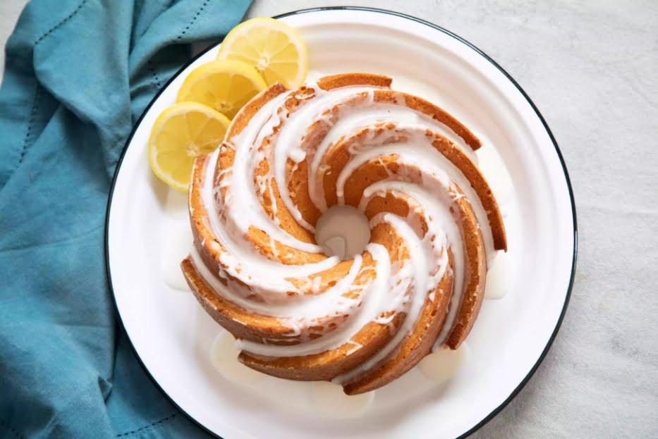 Лимонно-йогуртовый кекс